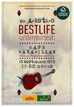 BestLife(UnderYourSeat) en acústico @ Café Cabanillas - Ourense música concierto concerto