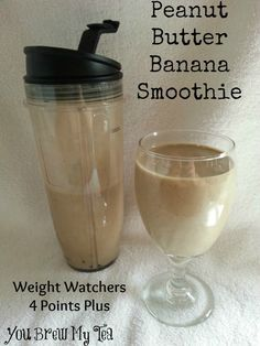 Weight Watchers Peanut Butter Banana Smoothie