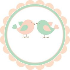 Layouts e templates para blogs e lojas virtuais Logo Online Shop, Bird Party, Ideas Para Fiestas, Kids Logo, Party Kit, Baby Birthday, Party Printables, Wedding Cards, Decoupage