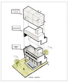 These Axonometric Illustrations Explore the Power of Digital Tools in Architectural Representation,Cortesía de Fernando Neyra