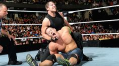 Raw 1/17/14: John Cena, Daniel Bryan & Sheamus vs The Shield - Elimination Chamber Qualifying Match