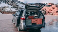 Best Toyota: Toyota Sienna Camper Conversion