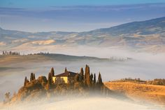 Photograph Under the Tuscan Fog by Anel Alijagić on 500px