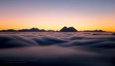 Fotograf Sea of Clouds #2 von Christoph Oberschneider auf 500px