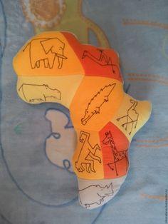 Купить Подушка-игрушка Африка - желтый, африка, подушка-игрушка, африканские…