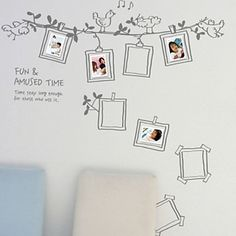 Photo Frame Decoration Wall Stickers – USD $ 19.99
