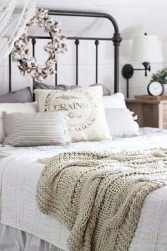 Farmhouse Style Bedroom