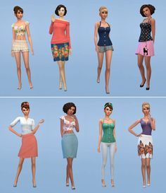 Netz-à-porter – outfits ready to wear for your sims (no CC required) Sims 4 Cas, My Sims, Sims Cc, Sims4 Clothes, Sims 4 Dresses, Sims 4 Characters, Sims 4 Cc Packs, Sims Four, Sims 4 Cc Finds