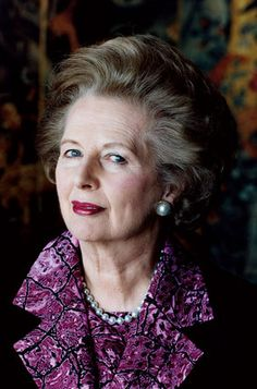 Conservative revolutionary the invincible Mrs. Margaret Thatcher. Proved herself to be the most powerful British prime minister since Sr Winston Churchill.