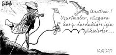 Uçurtmalar... #karakalem #karalamalar #uçurtmalar #handdrawing #kites