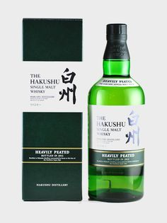 Hakushu Heavily Peated 2012 · We love Suntory and its Hakushu distillery. This bottle was distilled at Hakushu – a distillery surrounded by forest at the foot of the Southern Japan Alps. Non-chill-filtered. This bottle is becoming increasingly rare, so now is a good time to get one!