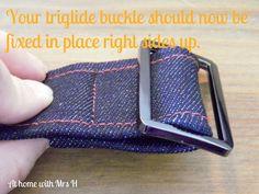 How to make an adjustable bag strap