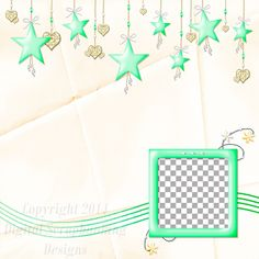 """Layout QP 8A-7 CAFS…..Quick Page, Digital Scrapbooking, Catch A Falling Star Collection, 12"""" x 12"""", 300 dpi, PNG File Format"""