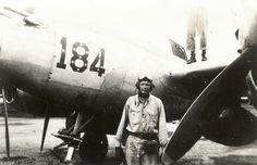 Charles Lindbergh P-38 Lightning 184 433rd Fighter Squadron Biak New Guinea July 1944