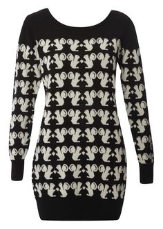 OMFG I NEED TO FIND THIS SWEATER! WHERE DID IT COME FROM IT?! HAS SQUIRRELS ON IT. I AM FREAKING OUT. I MUST FIND IT.