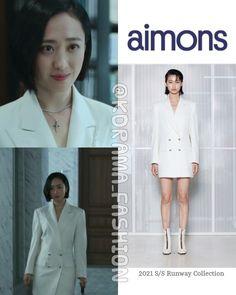 Jung So Min, Kim Min, Winter White, Kdrama, Runway, Coat, Devil, Fashion Design, Collection