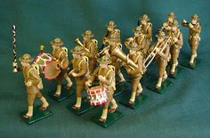military miniatures bands | American Doughboys Military Band, US Infantry, WWI