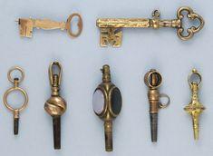Antique watch keys.