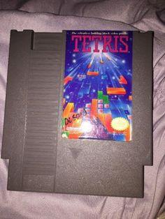 Tetris Nintendo Entertainment System NES Game TESTED & WORKS