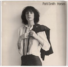 Robert Mapplethorpe (American, 1946–1989), Bob Heimall (American, born c.1943), Arista Records (founded 1974); Album cover for Patti Smith, Horses; 1975