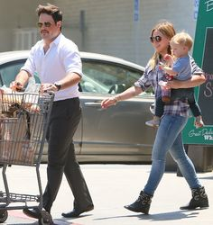 Hilary Duff Is Cowgirl Chic in Studded Boots for Grocery Shopping