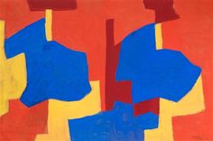 Serge Poliakoff, Composition