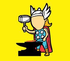 Dur, dur, d'être un super-héros ! =)