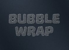 How to Create a Bubble-Wrap Text Effect in Adobe Photoshop