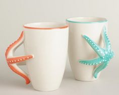 starfish mug set
