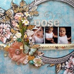A Louise Williams Layout, love it
