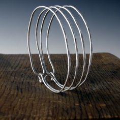 the endless bracelet.       Recycled Sterling silver. $88.88, via Etsy.