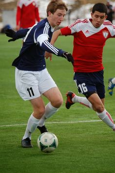 2014 Annandale Premiere Cup U17 Soccer Match - Team America 96 (TAFC96) vs Ironbound SC Elite (March 7, 2014) - Liam Walsh #11