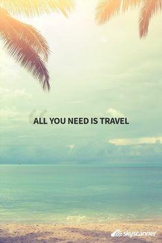 Travel, travel quote, inspiration, wanderlust,