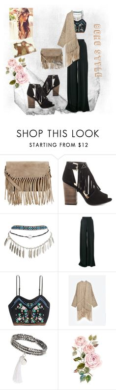 """""""BOHO STYLE"""" by sarapolyvore-21 ❤ liked on Polyvore featuring Accessorize, Chinese Laundry, Wet Seal, Etro and Vanessa Mooney"""