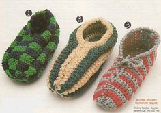 PDF Instant Download Phentex Slippers Knitting by PaperButtercup