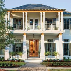 Bayou Bend  Plan #1745 - 17 House Plans with Porches - Southern Living