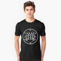 T-shirt 'Sceau Demon Paimon' par Talismania Rose Care, Tshirt Colors, Classic T Shirts, Shirt Designs, Demonology, Schitts Creek, Mens Tops, Introvert, Hugs