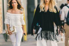 The Best Street Style From New York Fashion Week - Rackedclockmenumore-arrow :