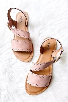 Find out New Look's elegant variety of girls' heeled footwear, by using block back shoes, strappy sandals and system styles. Sock Shoes, Cute Shoes, Me Too Shoes, Shoe Boots, Shoes Sandals, Pink Sandals, Flat Shoes, Shoes For Work, Flat Sandals