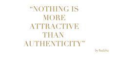 ¡Sé tú mism@, la autenticidad atrae!