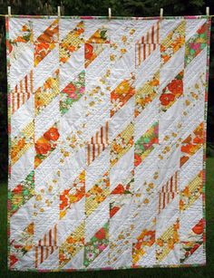 made from vintage sheets quilt - Explored | Flickr - Photo Sharing!