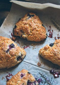 Perfect Blueberry Scones | prettysimplesweet.com