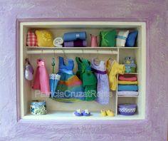 Cuadro Ropero Full con miniaturas