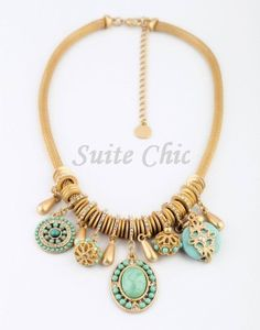 Chunky Necklace Statement Necklace Necklace for Women by SuiteChic, $20.00