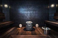 3 x ylellinen kylpyhuone Dream Bathrooms, Dream Rooms, Saunas, Piscina Spa, Natural Swimming Pools, Natural Pools, Sauna Design, Outdoor Sauna, Sauna Room