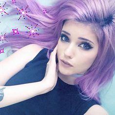 ledamonsterbunny // Leda Muir // theledabunny Caring For Colored Hair, Shannon Taylor, Emo Scene Hair, Edgy Girls, Leda Muir, Gothic Beauty, True Beauty, Hair Color, Hair Beauty