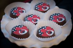 Cute Ladybug Oreo Cookies Birthday Party Ideas - Blog - LADYBUG GIRL (AND BUMBLEBEE BOY) BIRTHDAY PARTY IDEAS launch parti, chocolate covered oreos, cover oreo, cooki, parti idea, boy birthday parties