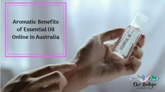 The aroma therapy can be best obtained through #essentialoil online in Australia. There are several other beneficial features that essential oil online in Australia brings along, too.