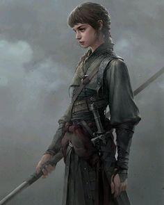 Fantasy Warrior, Fantasy Rpg, Medieval Fantasy, Warrior Girl, Warrior Women, Fantasy Samurai, Female Samurai, Female Elf, Dragon Warrior