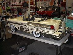 1958 Mercury Turnpike Cruiser Convertible Pedal Car, every kids dream.